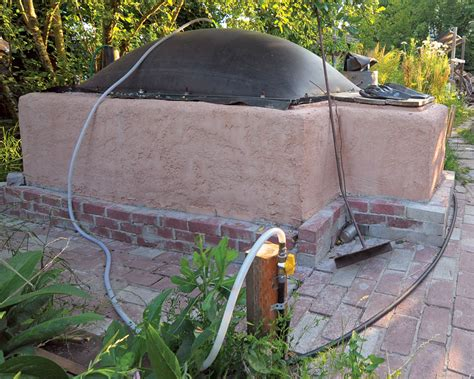 diy biogas generator home construction of a hestia