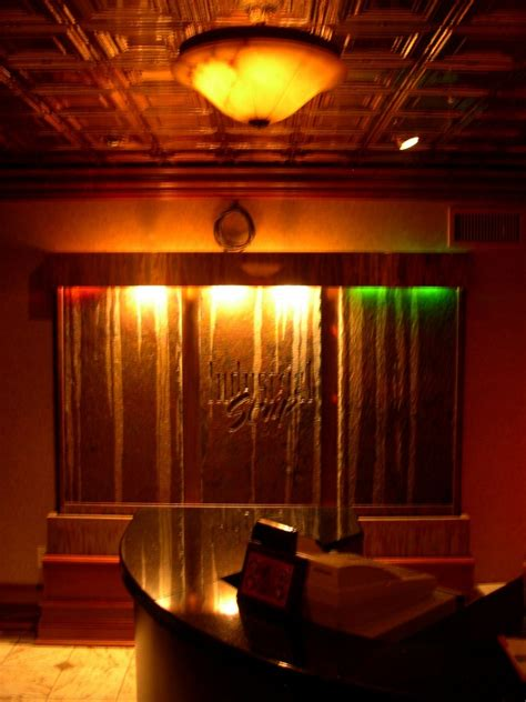 Nightclub Ceiling by Design Buzz Chicago Metallic Sted Metal Ceilings In