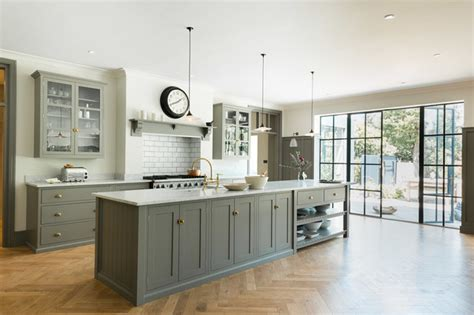 New Design Kitchens Cannock the queens park kitchen by devol transitional kitchen