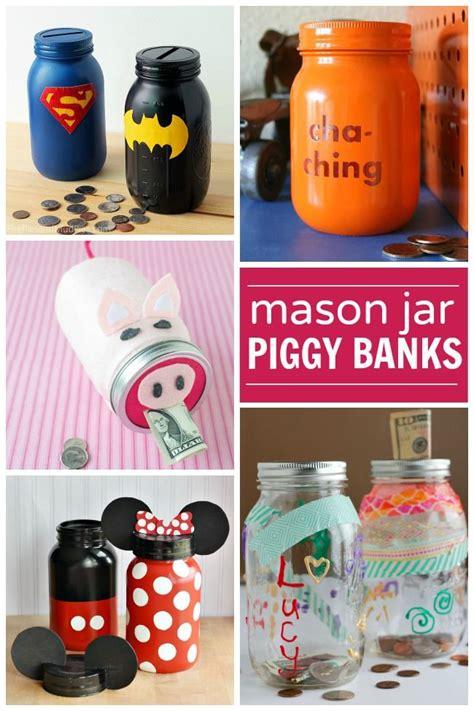 diy jar bank piggy banks