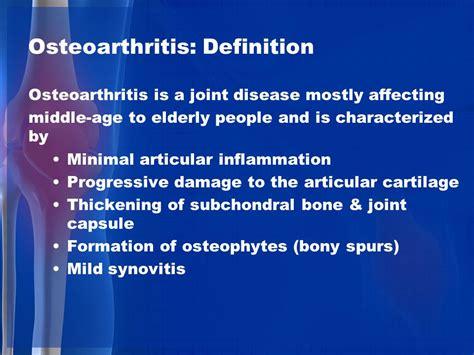 arthritis definition of arthritis by medical dictionary osteoarthritis rheumatoid arthritis septic arthritis ppt
