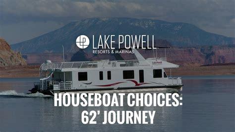 houseboat journey 62 journey houseboat lake powell youtube