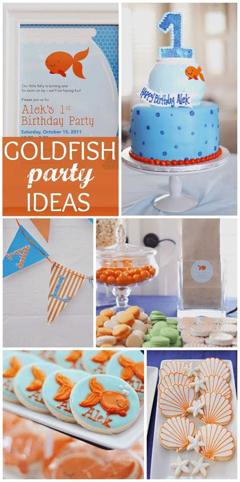 goldfish themes 463 best images about baby shower and party ideas on pinterest