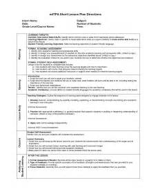 Edtpa Lesson Plan Template by Visual Lesson Plan Template Tpa Lesson Planning