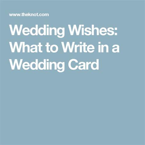 Wedding Card Writing