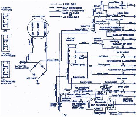 triumph 600 wiring diagram html triumph free engine
