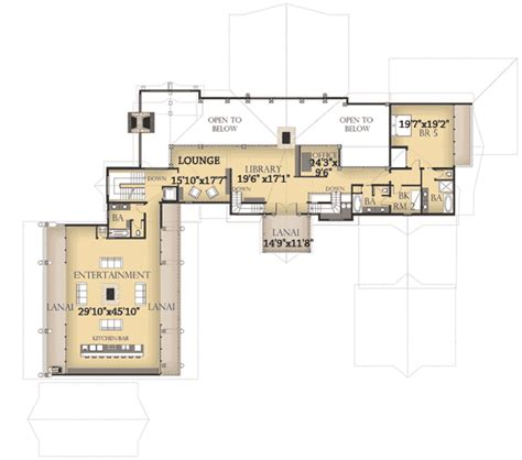spacious new western home plan 13311ww architectural
