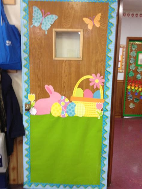 easter door decorations easter classroom door i created classroom decoration