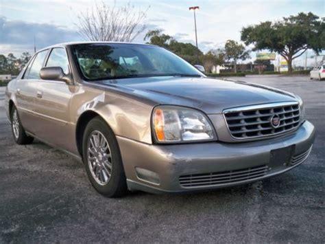 2003 Cadillac Dhs by Sell Used 2003 Cadillac Dhs Factory Navigation