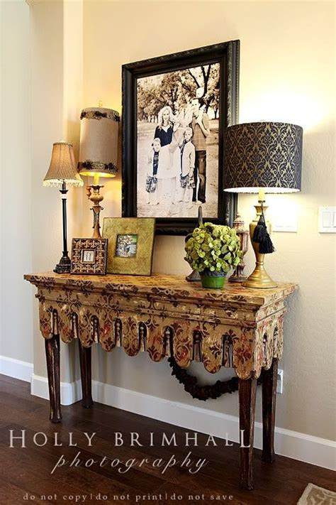 Beautiful Entryway Tables Beautiful Entry Table For The Home