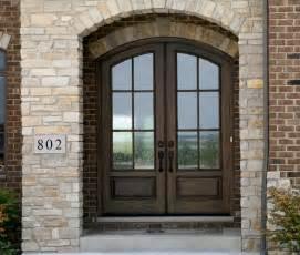 Front Door Arch Arched Doors Exterior Arched Top Doors Mahogany Door