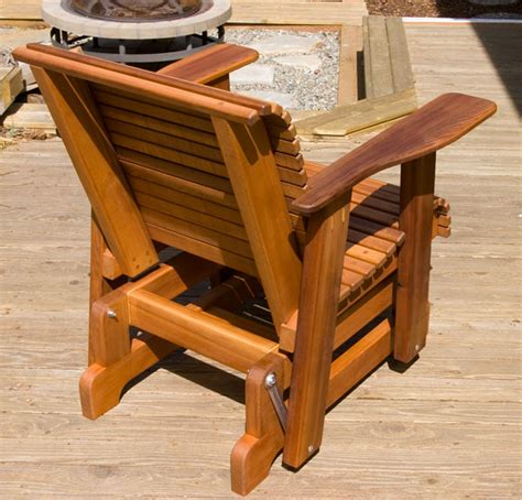 how to build a rocking bench outdoor glider rocker plans plans diy free download free