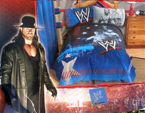 wwe twin bed set wwe ringside wrestling twin comforter p c bed set boy new ebay
