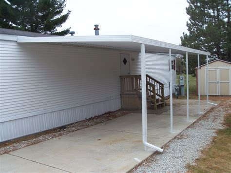 image gallery mobile home attached carports