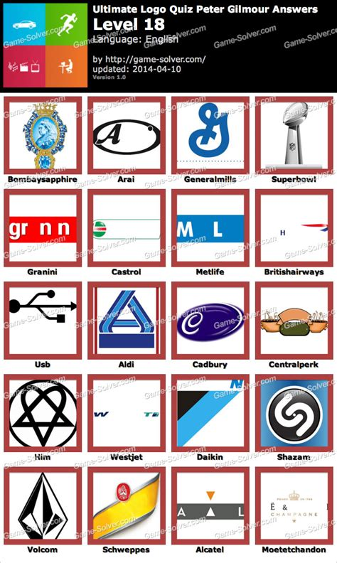 logo quiz ultimate media answers game solver quiz logo game level 18 answers all levels autos post