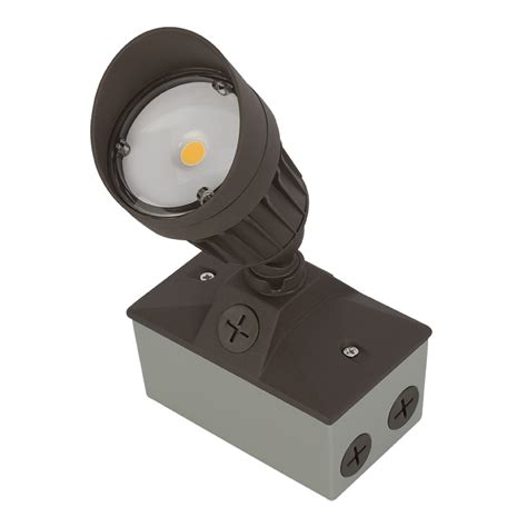 led landscape flood light w junction box 3000k 4000k