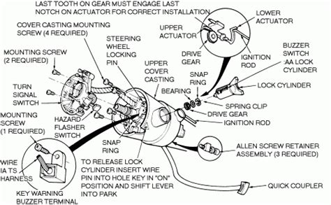 chevy truck steering column diagram 1994 chevy truck steering column diagram diagram auto
