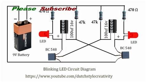 Learn How To Make Blinking Led Lights Circuit Blink Led How To Make Lights Blink