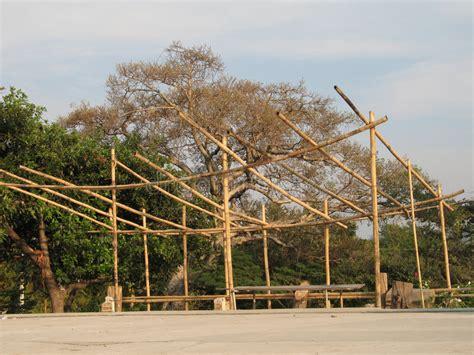 hutte tropicale hutte en bambou image stock image du tropical structure