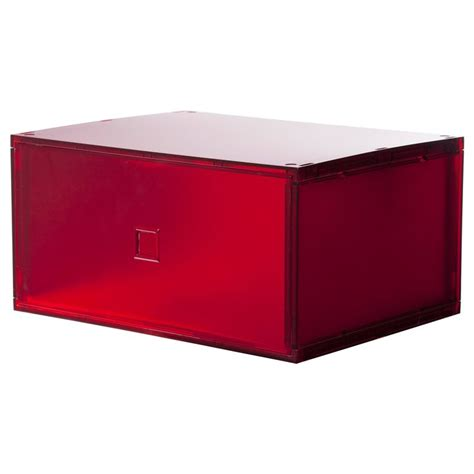 red chest of drawers ikea lekman mini chest of drawers red