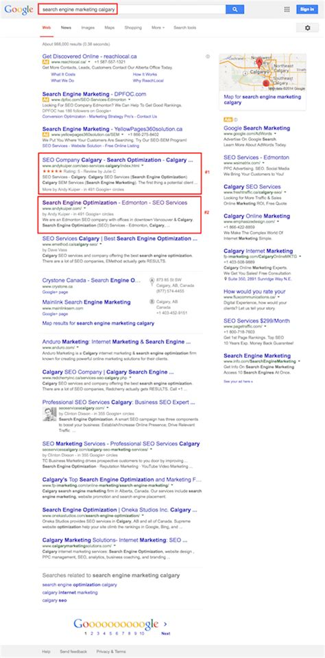 Calgary Search Calgary Seo Services Andy Kuiper Certified Search Engine Optimization Analyst