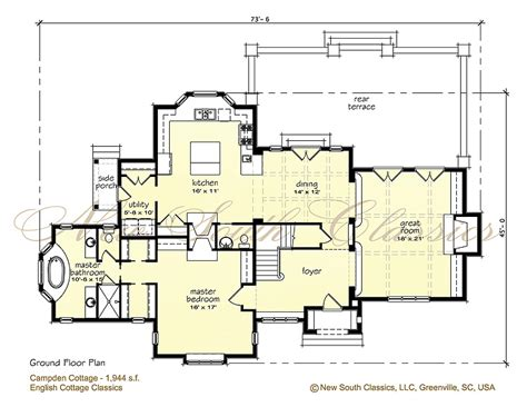 cotswold cottage house plans english cotswold cottage house plans
