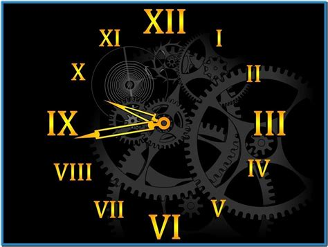 clock themes for xp free download big clock screensaver windows xp download free
