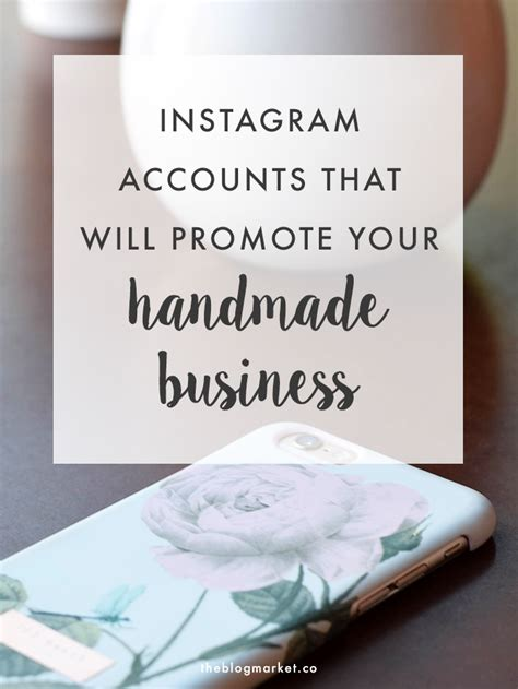 Where Can I Sell My Handmade Items - instagram accounts for handmade business the market