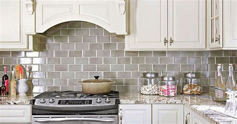 How To Choose The Right Subway Tile Backsplash Ideas And How To Choose Kitchen Backsplash