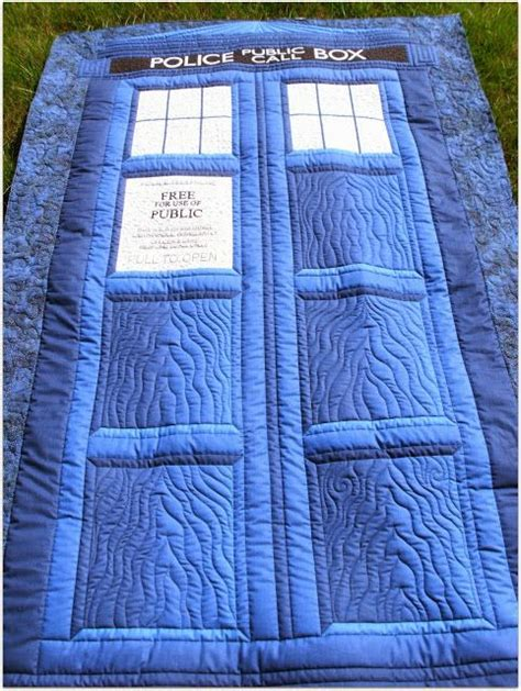 17 best ideas about tardis quilt pattern on