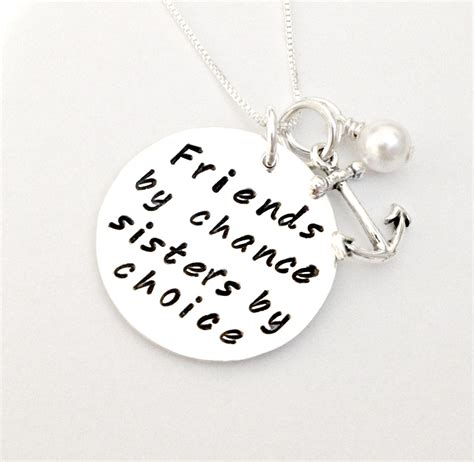 sisters by chance friends by choice tattoo friends by chance by choice personalized