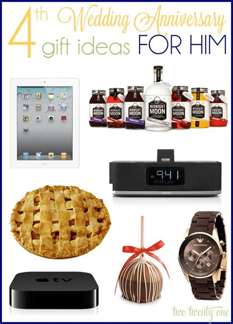 Anniversary Gifts For Men Engagement - best 25 4th wedding anniversary gift ideas on pinterest