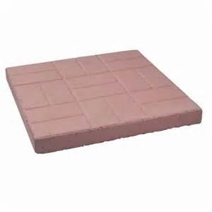 18 Inch Patio Pavers Decor Precast Brick Patio Paver 18 Inch X 18 Inch Home Depot Canada Ottawa