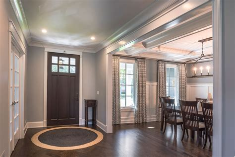 dining room entryway entry door dining room new custom homes globex