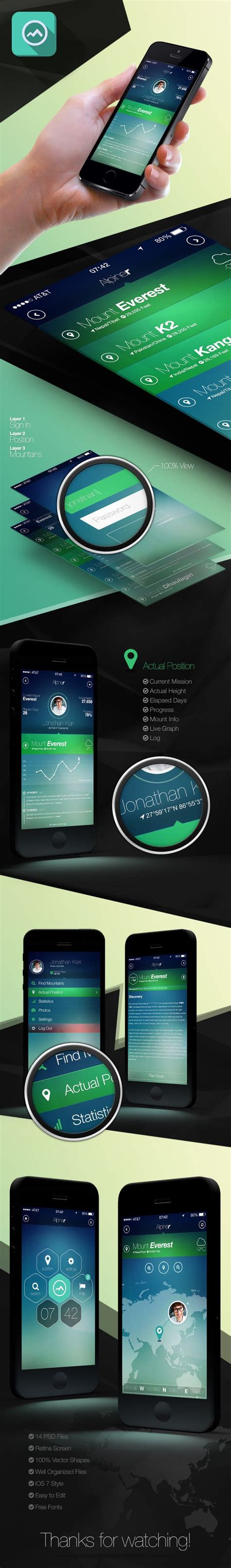 iphone layout design alpiner iphone 5 retina app design if any of you are