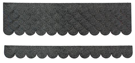 schindeln aus dachpappe mini dachschindeln aus bitumen dachpappe grau 5 x 4 2 cm