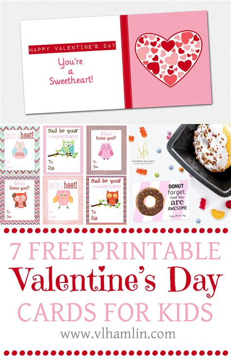 printable cards for kids free printable valentine s day cards for kids archives