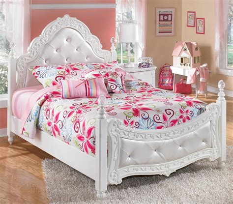 girls white bedroom furniture white royal girls bedroom furniture with pink ascents