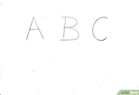 come disegnare le lettere dei graffiti 4 passaggi