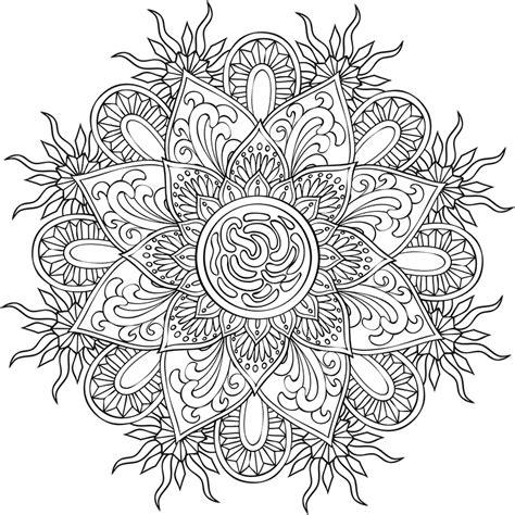 Mandalas 224 Colorier Cr 233 Apassions Dessin Peindre Imprimer L