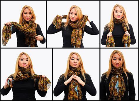 nudos de bufanda formas de usar una bufanda nudo en estas 233 pocas y forma de