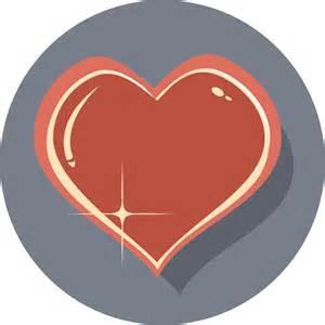 Clipart - Shiny Heart Icon