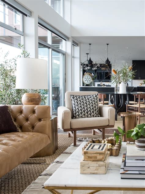 modern loft living room decorist seattle showhouse the power of design