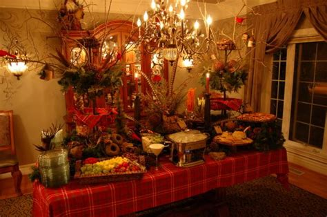 buffet tablescapes buffet tablescape ideas pictures