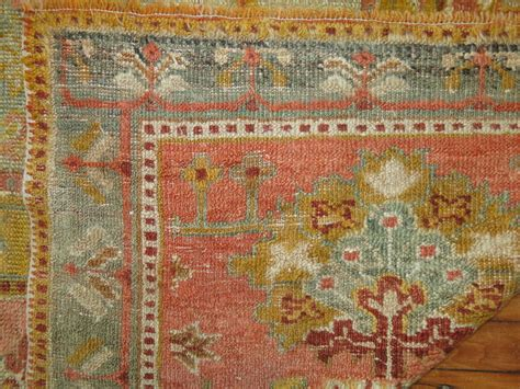 Antique Turkish Angora Oushak Rug At 1stdibs Antique Rugs