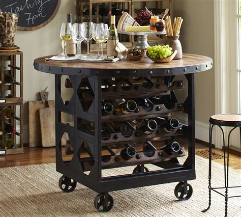 Pottery Barn Wine Rack by Industrial Chic Southernfinds