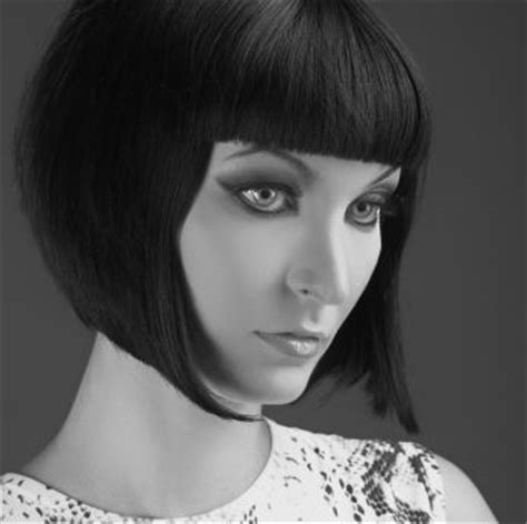 1920 modern bob hair cut pinterst vintage style bobs and retro bob on pinterest
