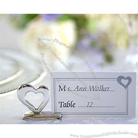 wedding placecard holders cheap wedding place cards wedding favor silver heart place card holder discount