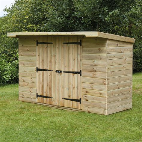 outdoor wood buy large lockable wooden outdoor storage shed tts