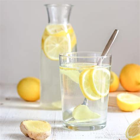 Easy Detox Water With Lemon by Cleansing Lemon Water Recipe Happy Foods